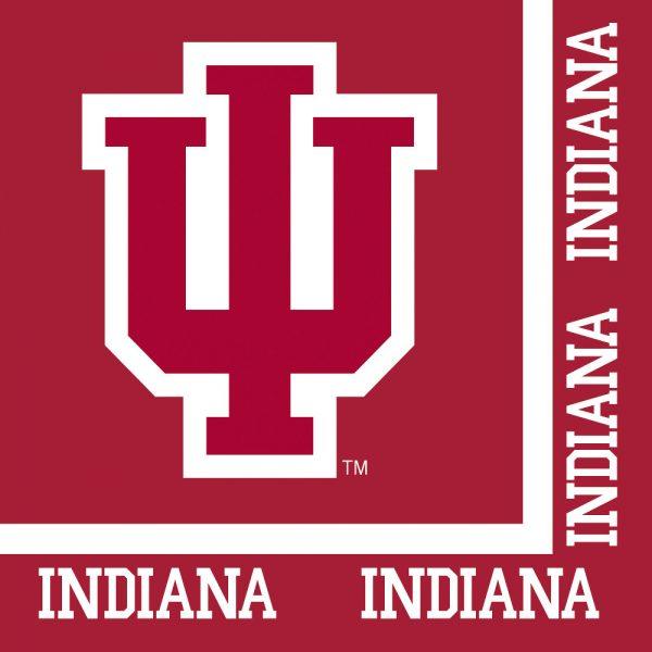 Indiana University Luncheon Napkin 240 Ct