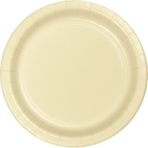"Ivory Paper Dinner Plates 10"" 240 Ct"