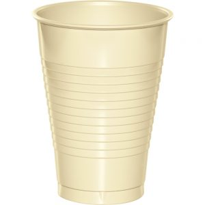 Ivory Plastic Cups 12 Oz. 240 Ct
