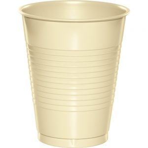 Ivory Plastic Cups 16 Oz. 240 Ct
