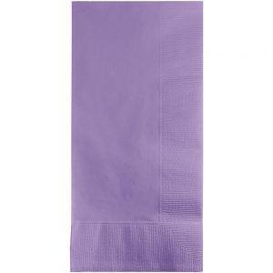 Luscious Lavender Dinner Napkins 2Ply 1/8Fld 600 Ct