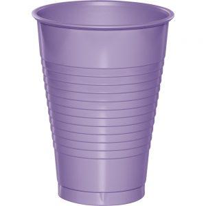 Luscious Lavender Plastic Cups 12 Oz. 240 Ct