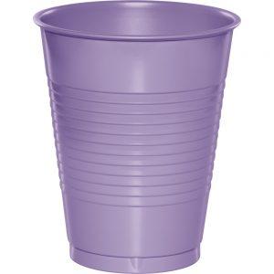 Luscious Lavender Plastic Cups 16 Oz. 240 Ct