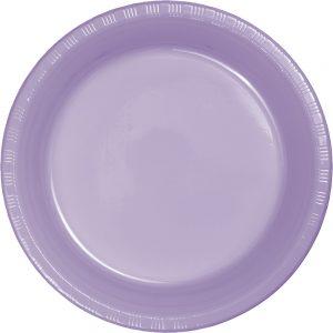 """Luscious Lavender Plastic Dessert Plates 7"""" 240 Ct"""