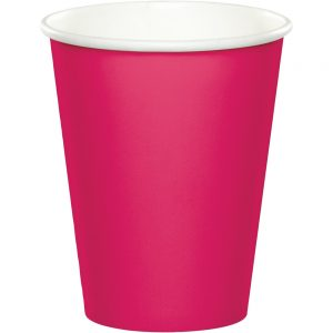 Hot Magenta Hot/Cold Cups 9oz. 240 Ct