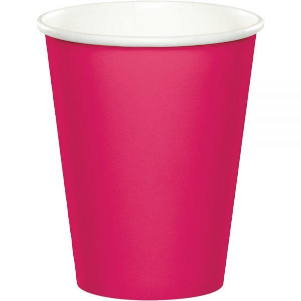 Hot Magenta Hot/Cold Cups 9oz. 240 Ct