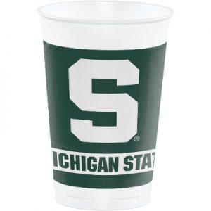 Michigan State University 20 oz Plastic Cups 96 Ct