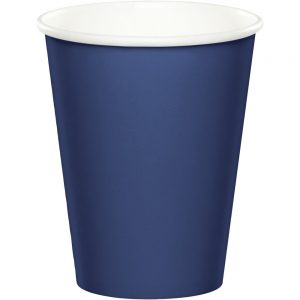 Navy Hot/Cold Cups 9Oz. 240 Ct