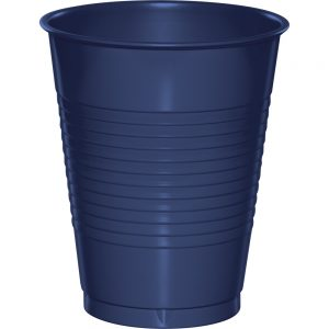 Navy Plastic Cups 16 Oz. 240 Ct