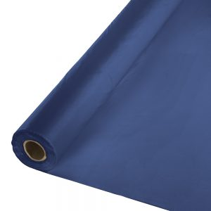 "Navy Banquet Roll 40"" X 250' 1 Ct"