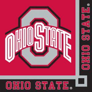 Ohio State University Beverage Napkin 240 Ct
