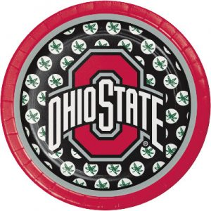 "The Ohio State Univ 7"" Lunch Plates 96ct"