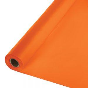 """Sunkissed Orange Banquet Roll 40"""" X 100' 1 Ct"""