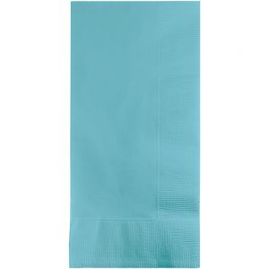 Pastel Blue Dinner Napkins 2Ply 1/8Fld 600 Ct