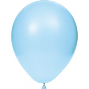 "Pastel Blue 12"" Latex Balloons 180 Ct"