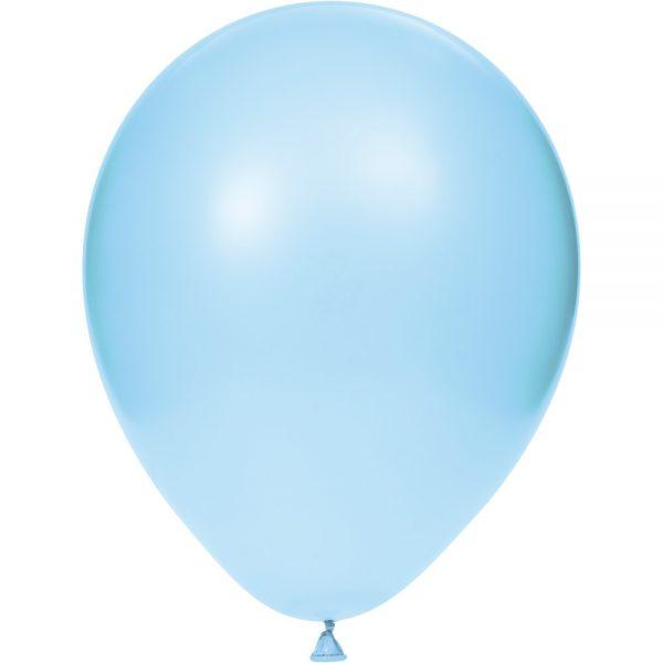 "Pastel Blue 12"" Latex Balloons 180 Ct"