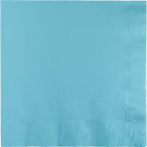 Pastel Blue Beverage Napkin 3Ply 500 Ct