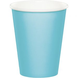 Pastel Blue Hot/Cold Cups 9 OZ 240 Ct