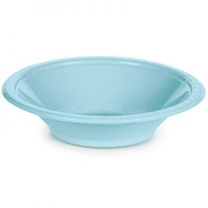 Pastel Blue Premium Plastic Bowls 12 OZ 240 Ct