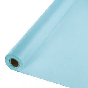 "Pastel Blue Banquet Roll 40"" X 100'  1 Ct"