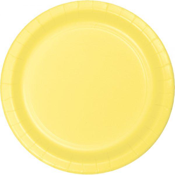 "Mimosa Paper Dessert Plates 7"" 240 Ct"