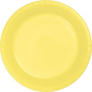"Mimosa Plastic Lunch Plates 9"" 240 Ct"