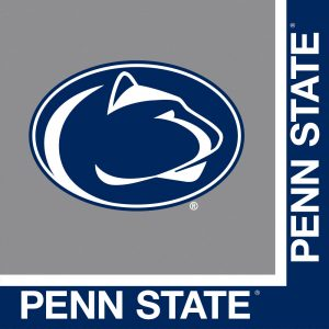 Pennsylvania State University Luncheon Napkin 240 Ct