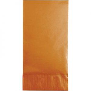 Pumpkin Spice Guest Towels 3Ply 192 Ct