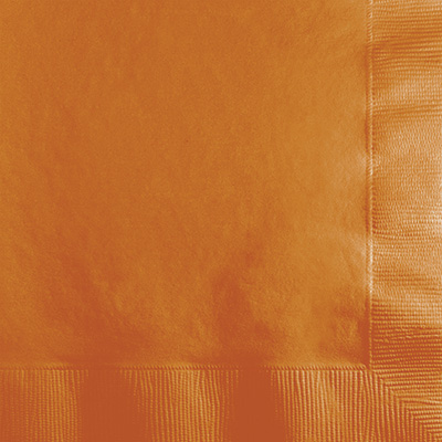 Pumpkin Spice Lunch Napkins 3Ply 500 Ct