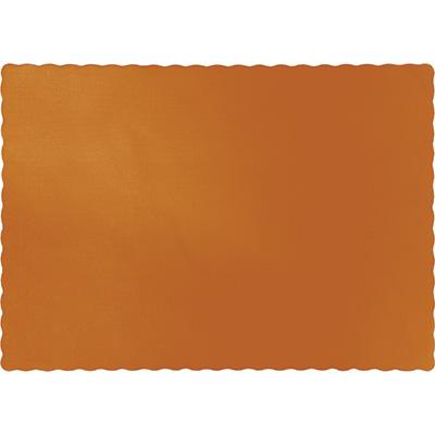 Pumpkin Spice Paper Placemats 600 Ct