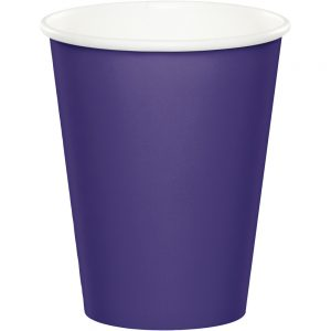 Purple Hot/Cold Cups 9Oz. 240 Ct