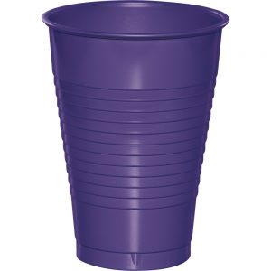 Purple Plastic Cups 12 Oz. 240 Ct