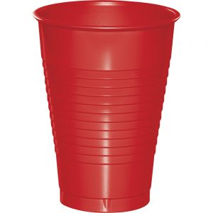 Classic Red Plastic Cups 12 Oz. 240 Ct