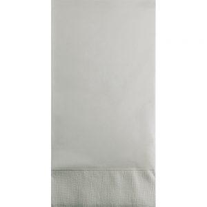 Shimmering Silver Guest Towels 3Ply 192 Ct