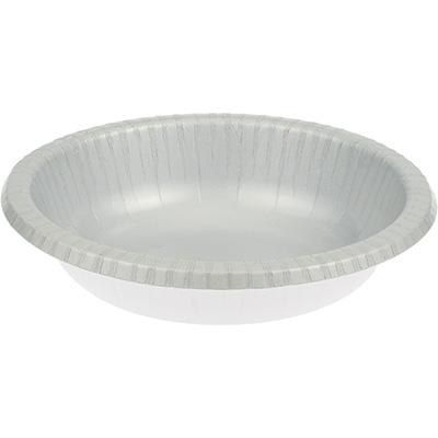 Shimmering Silver Paper Bowls 20 Oz. 200 Ct