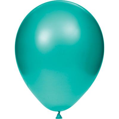 "Teal Lagoon 12"" Latex Balloons 180 Ct"