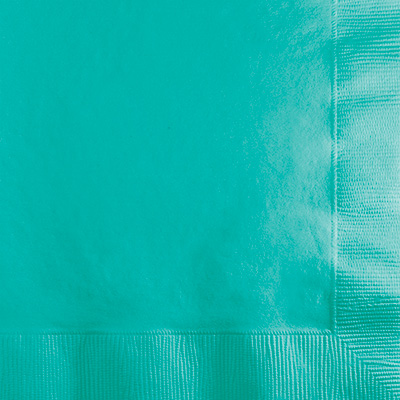 Teal Lagoon Lunch Napkins 2Ply 600 Ct