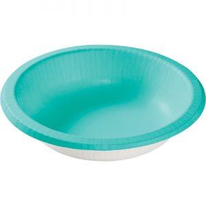Teal Lagoon Paper Bowls 20 Oz. 200 Ct