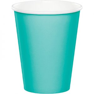 Teal Lagoon Hot/Cold Cups 9Oz. 240 Ct