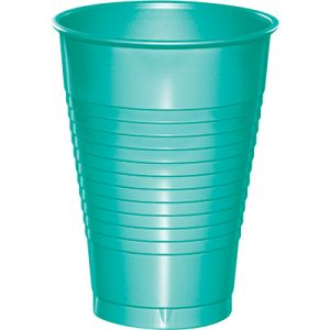 Teal Lagoon Plastic Cups 12 Oz. 240 Ct
