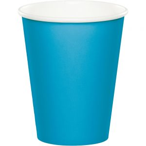 Turquoise Hot/Cold Cups 9Oz. 240 Ct