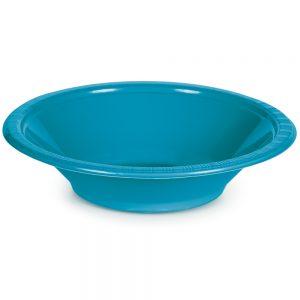 Turquoise Plastic Bowls 12 Oz. 240 Ct