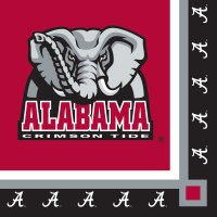 Univ Of Alabama Beverage Napkin 240 Ct