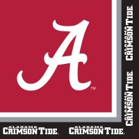 Univ Of Alabama Luncheon Napkin 240 Ct