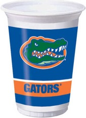 University Of Florida 20 oz Plastic Cups 96 Ct