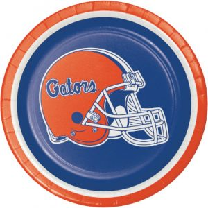 University Of Florida Luncheon Plate 96 Ct