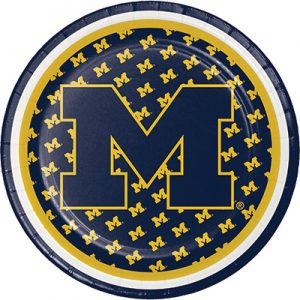 University of Michigan Party Supplies