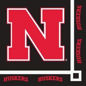 University Of Nebraska Beverage Napkin 240 Ct