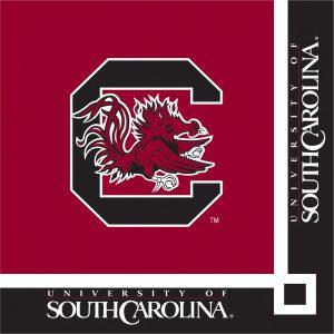 University Of South Carolina Beverage Napkin 240 Ct