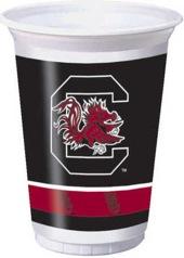 University Of South Carolina 20 oz Plastic Cups 96 Ct